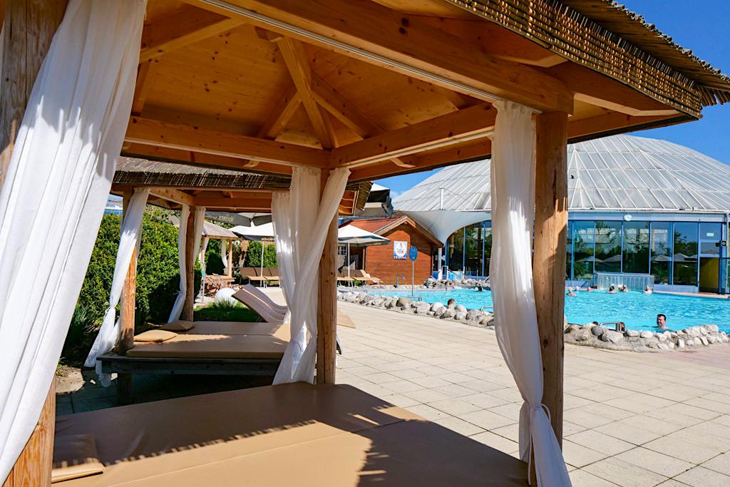 Therme Erding - Wunderschöne Salas & Pavillons laden zum Entspannen ein - Bayern