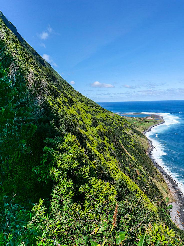 Schönste Azoren-Wanderung: Serra do Topo zur Faja dos Cubres & sensationeller Ausblick auf Caldeira Santo Cristo - Sao Jorge - Azoren