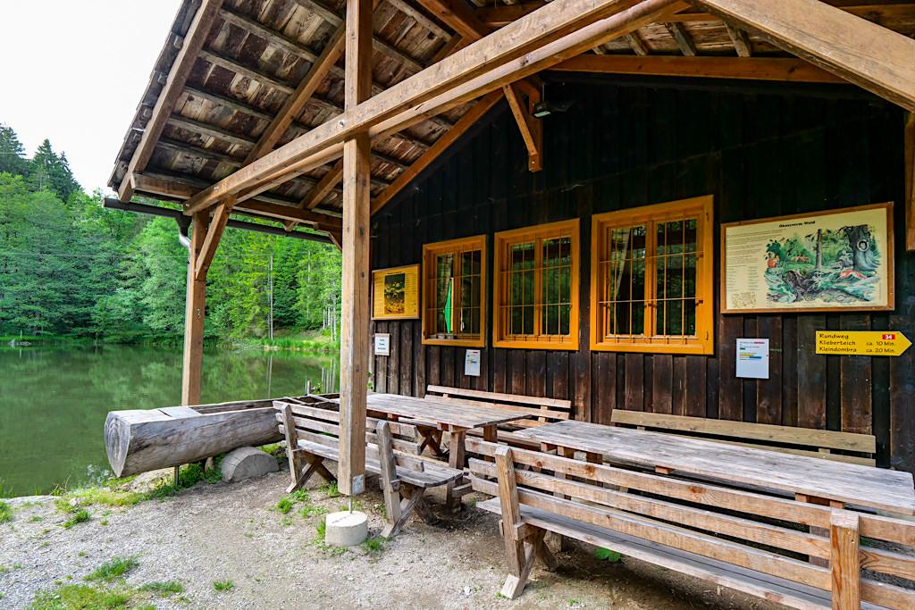 Slow Trail Zwergsee - Hütte zum Picknicken & Verweilen beim Millstätter See in Kärnten - Österreich