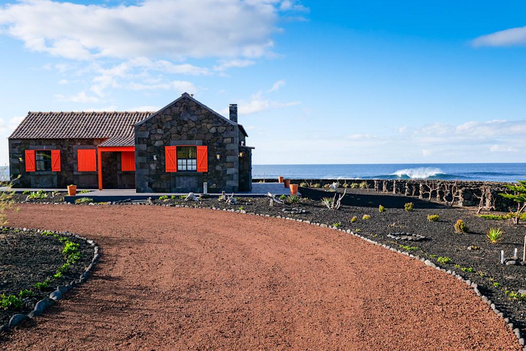 Schicke Adegas nahe Madalena als Wochenend- und Ferienhäuser - Nordwesten von Pico - Azoren