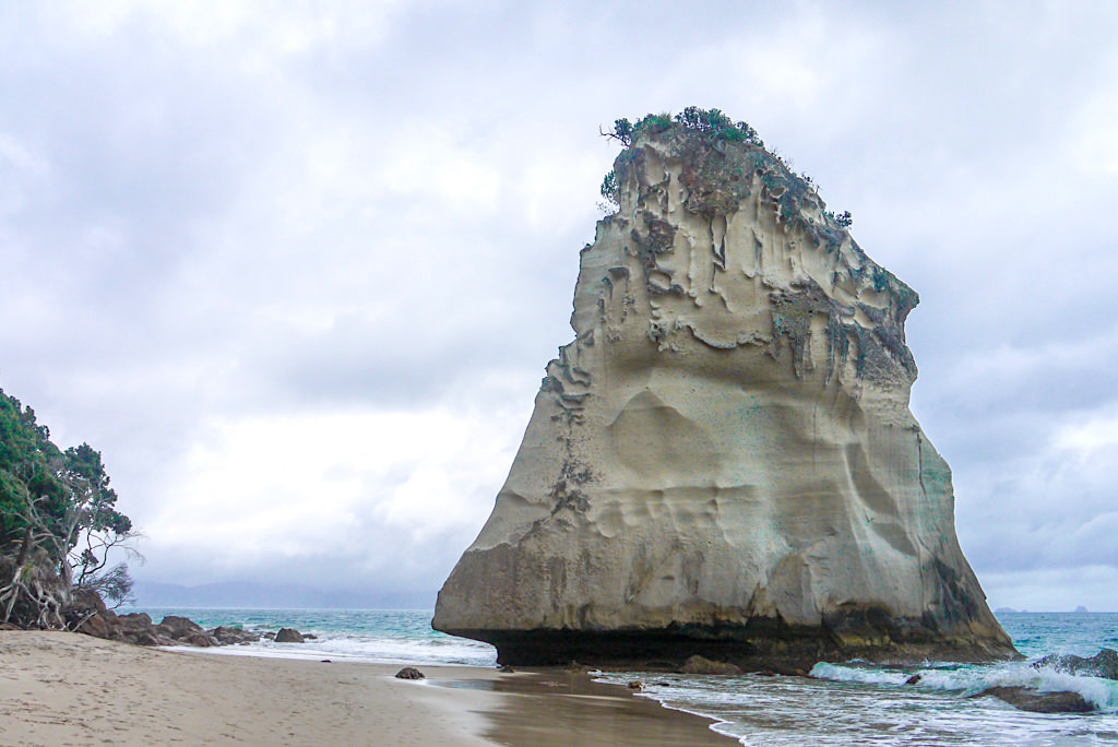 Fantastisch schöne Cathedral Cove - Bizarre Felsformationen & idyllische Buchten machen den Ort zu einem Touristenmagnet - Coromandel Peninsula Highlights - Nordinsel, Neuseeland