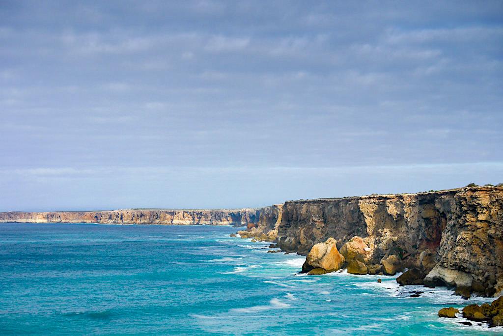 Grosse Australische Bucht - Küste entlang Nullarbor - South Australia