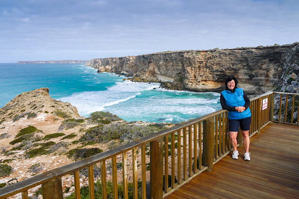 Head of Bight - Aussichtsplattformen mit einer tollen Sicht über die Great Australian Bight - Southern Australia