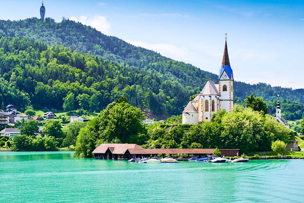 Maria Wörth & ihre Kirchen - Wörthersee - Kärnten, Österreich
