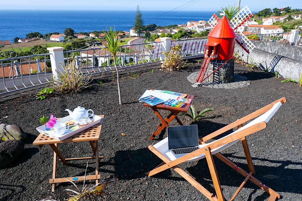 Übernachtungsempfehlung für Pico: Miradouro da Papalva Guest House Inn - Sao Joao - Pico, Azoren