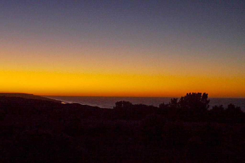 Nullarbor Roadtrip - Ende eines Tages & faszinierender Sonnenuntergang - Southern Australia