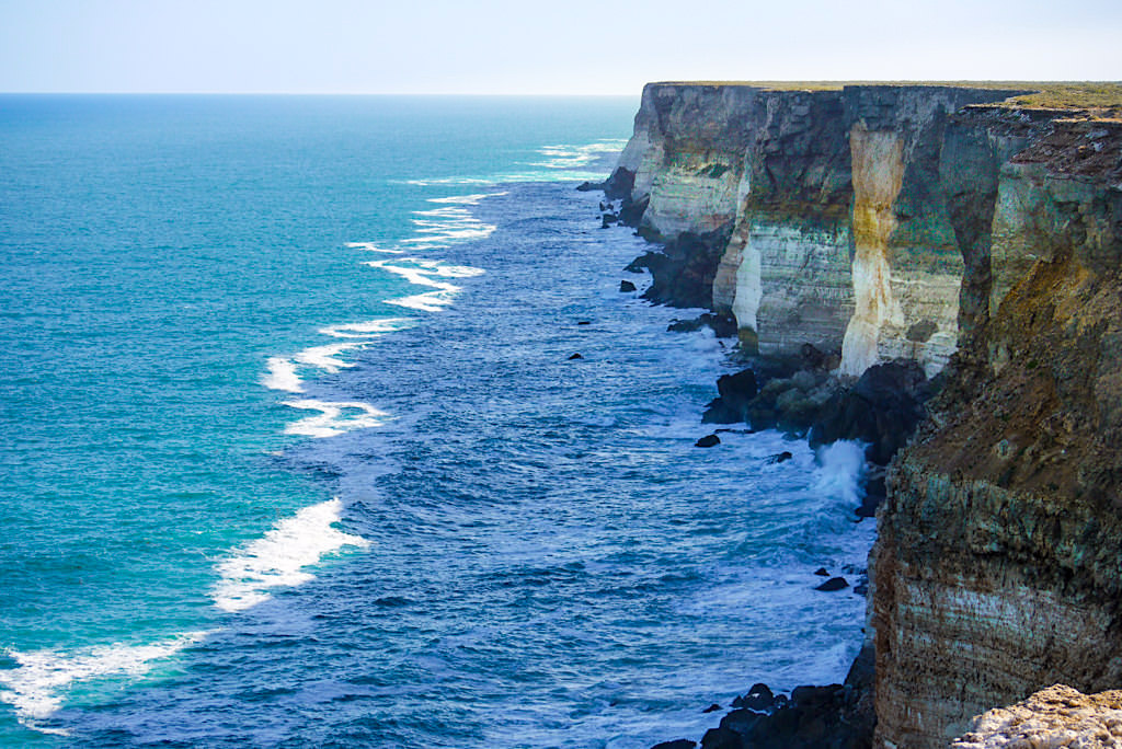 Nullarbor Roadtrip Highlight - Faszinierende Steilklippen entlang der Great Australian Bight - Southern Australia