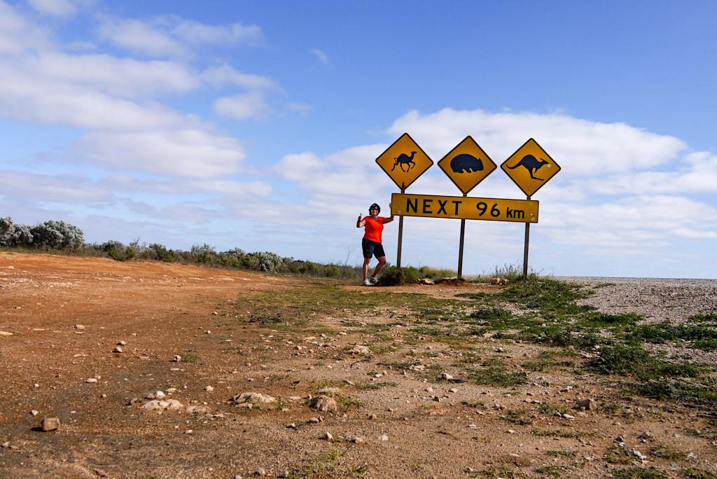 Nullarbor - Lustige Warn- & Straßenschilder - South Australia