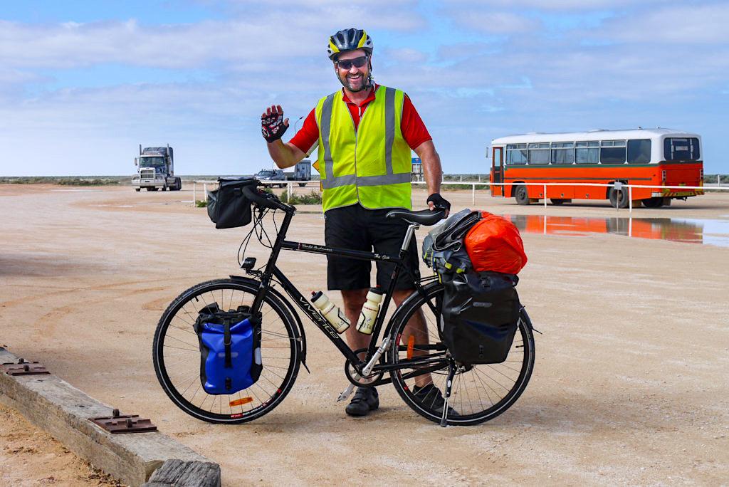 Nullarbor Durchquerung mit dem Fahrrad - South Australia