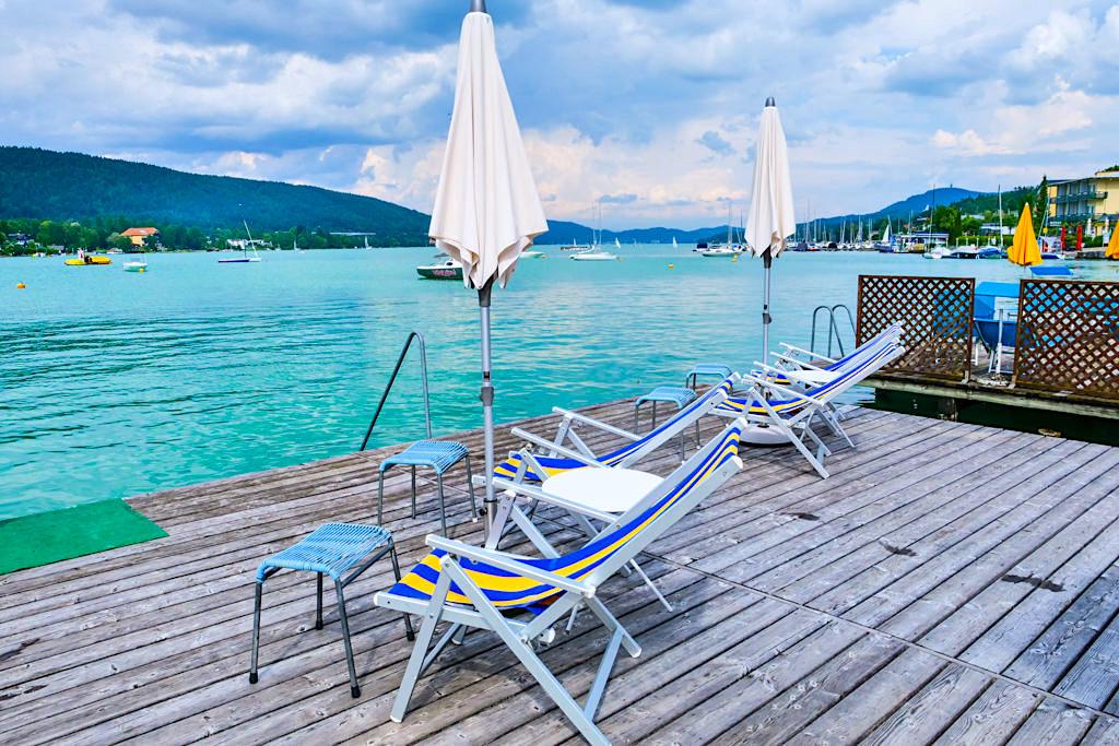 Hotelstrand Ogris am See - Velden - Kärnten, Österreich