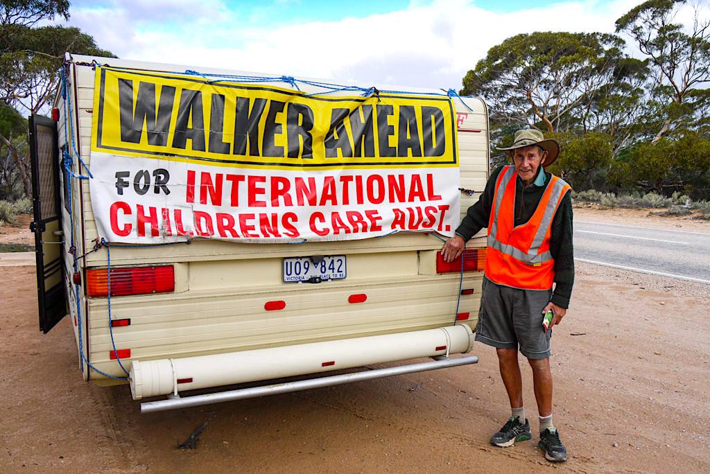 Peter Tripovich - Aussie Legende umrundet mit 90 Jahren ganz Australien am Nullarbor - South Australia