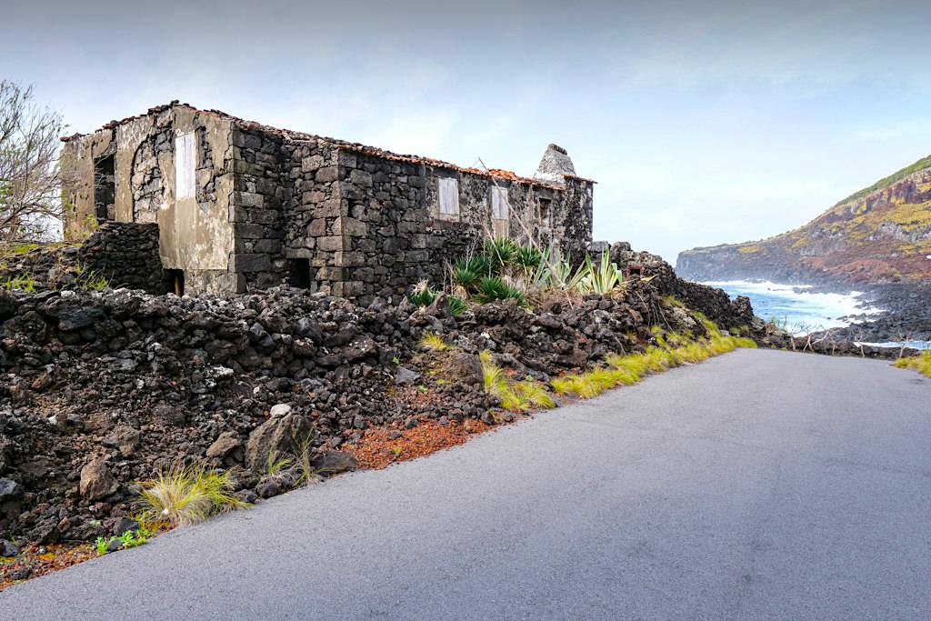 Pocinho: Badeplatz & schöne Picknick Bucht - Zona do Verdelho - Pico, Azoren