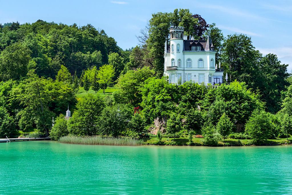Malerisches Schloss Reifnitz - Villen & Schlösser-Idylle am Wörthersee - Kärnten, Österreich