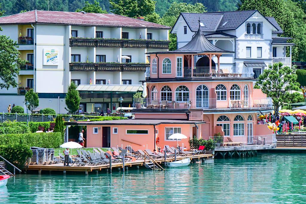 Seehotel Astoria: das Badehaus - Wörthersee - Kärnten, Österreich