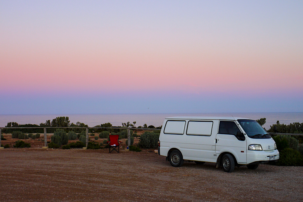 Sonnenuntergang - Nullarbor Roadtrip Highlight - Southern Australia