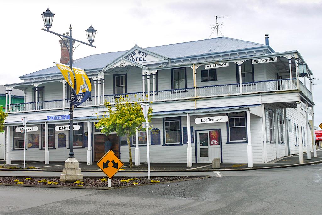 Zauberhaftes Waihi: ein Ort an dem die Zeit stehengeblieben zu scheint - Coromandel Peninsula - Nordinsel, Neuseeland