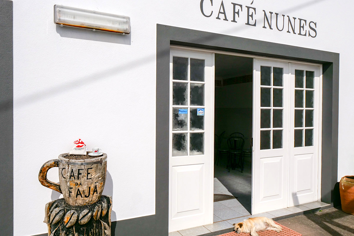 Cafe Nunes: bester Kaffee der Azoren - Faja dos Vimes - Sao Jorge, Azoren