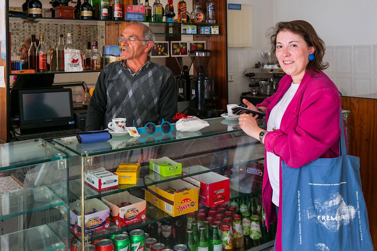 Cafe Nunes: Kaffee von der eigenen Kaffeeplantage - Faja dos Vimes - Sao Jorge, Azoren