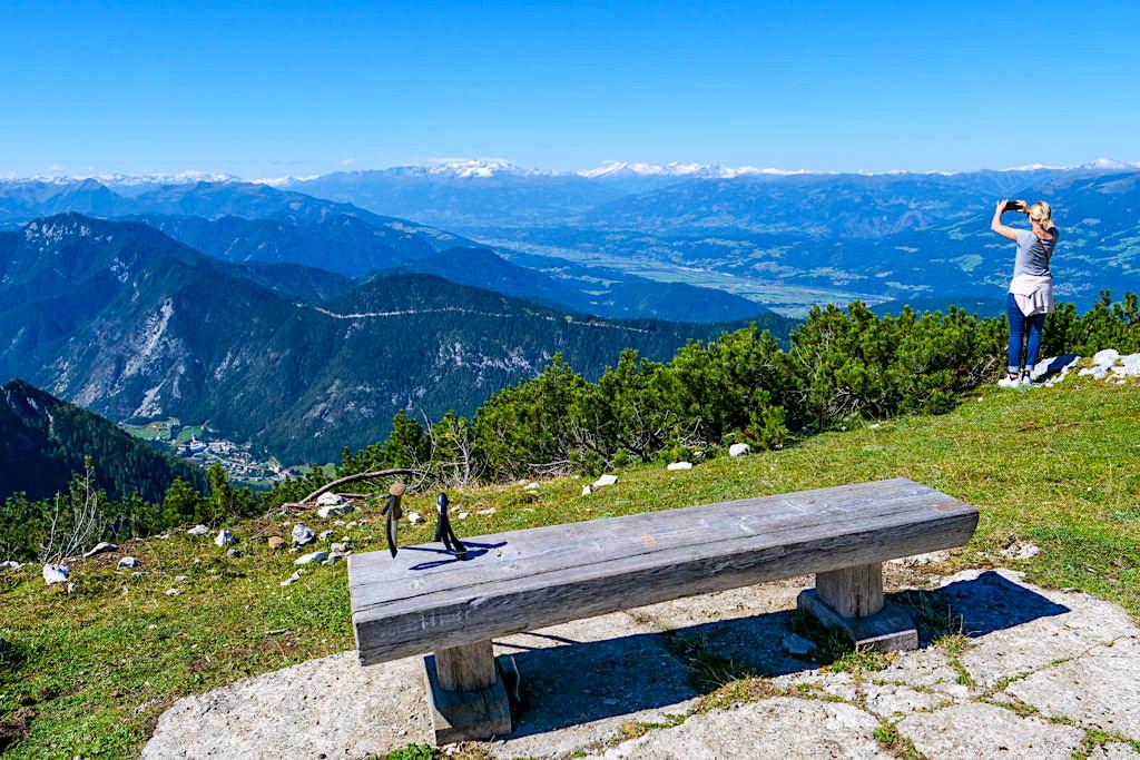 Dobratsch Wanderung auf dem Normalweg - Grandioser Ausblick auf Täler & Berge - Kärnten, Österreich