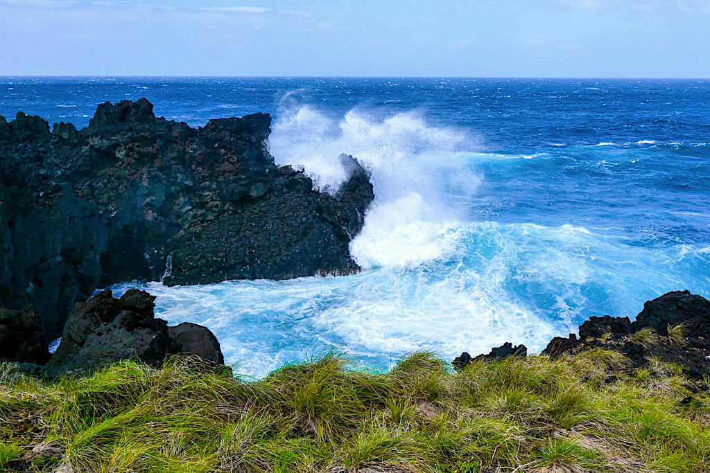 Faja da Ribeira da Areia - tosender Atlantik - Sao Jorge, Azoren