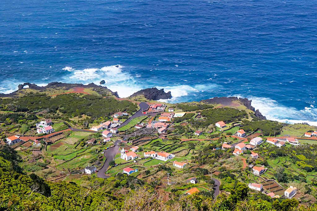 Faja da Ribeira da Areia - Schönste Fajas und Ausblicke auf Sao Jorge - Azoren