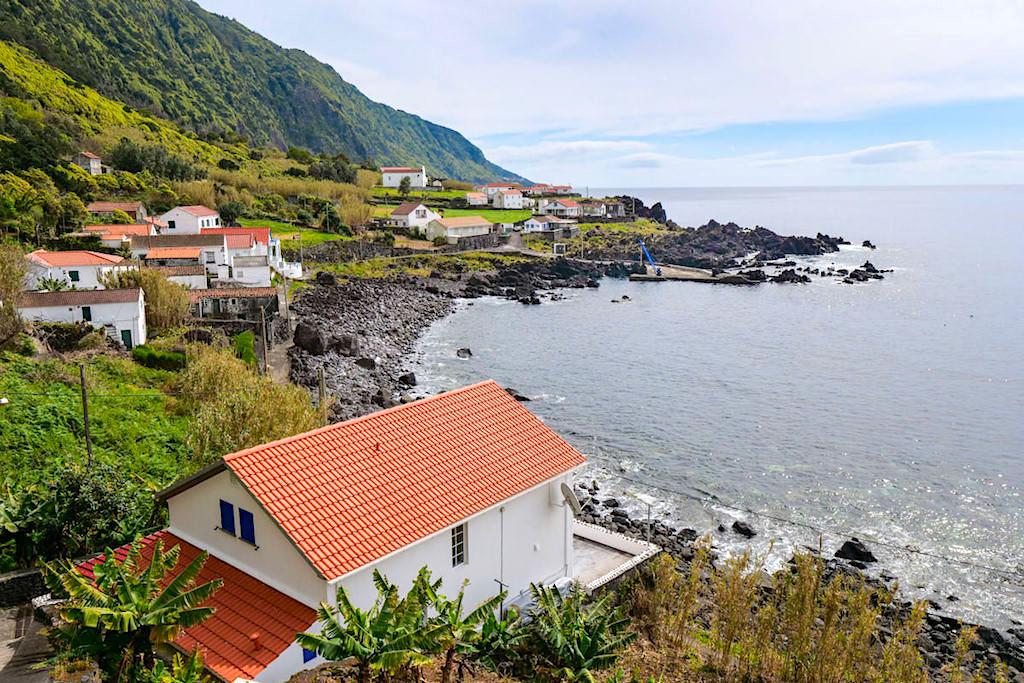 Faja das Almas - kleine Faja im Süden von Sao Jorge, Azoren