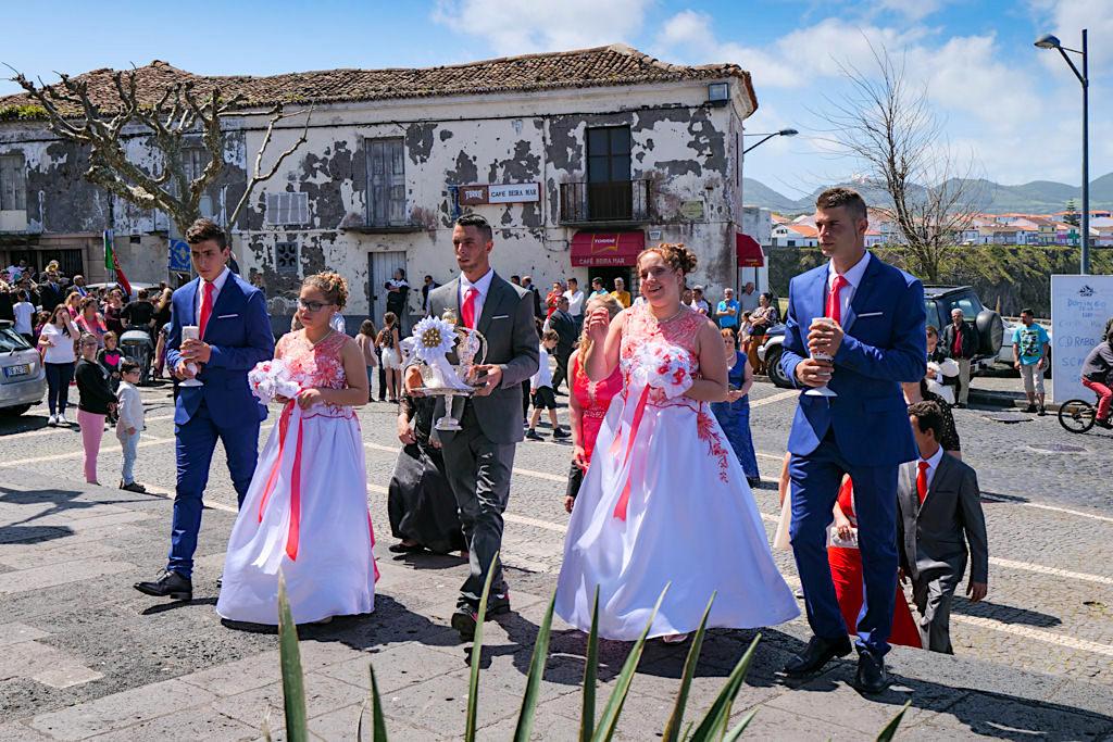 Festas do Espirito Santo bei Rabo de Peixe - Sao Miguel, Azoren