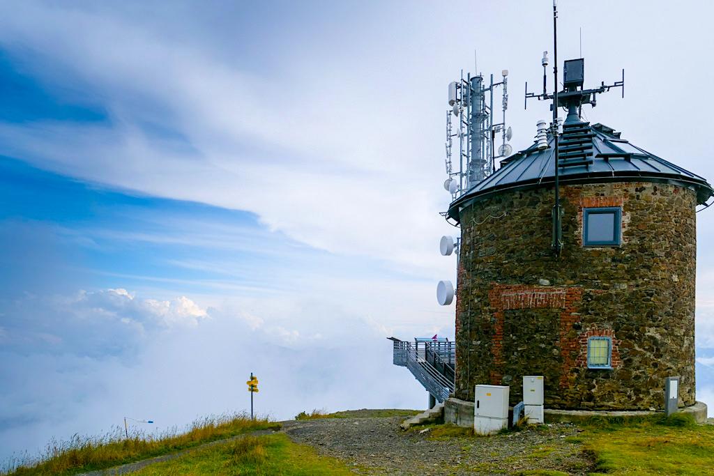 Gerlitzen Alpe - Neue Aussichtsplattform am Gipfel - Region Villach, Kärnten - Österreich