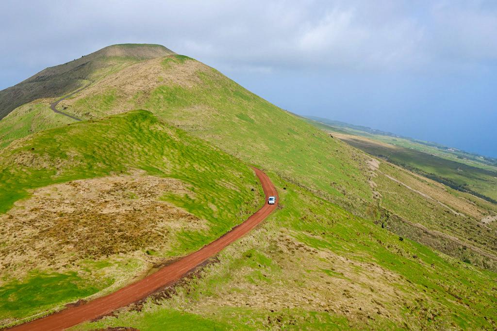 Hochlandroute Sao Jorge: entlang dem Bergkamm - Azoren