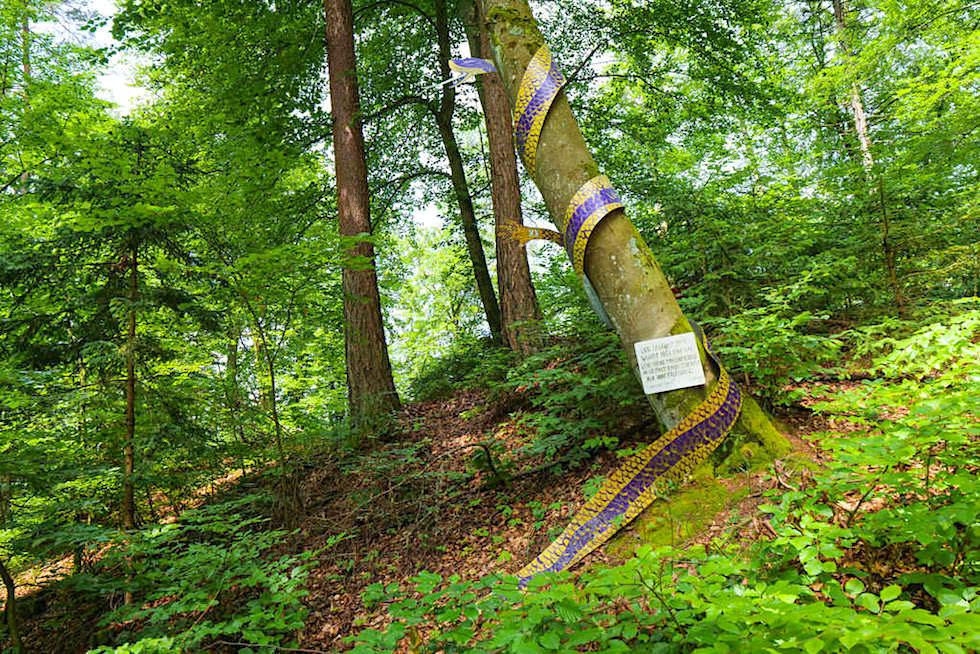 Kraftorte am Wörthersee: Kathreinkogel - Schlange als verwunschene Menschenseele - Kärnten, Österreich