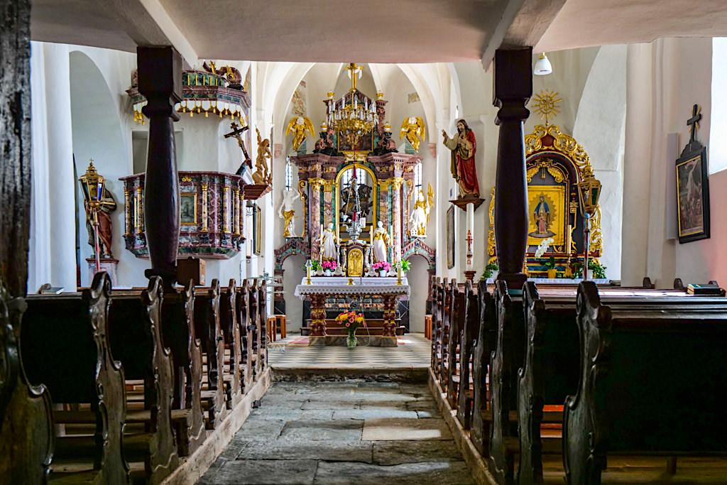 Kraftorte am Wörthersee: Kirche Sternberg - Innenansicht - Kärnten, Österreich