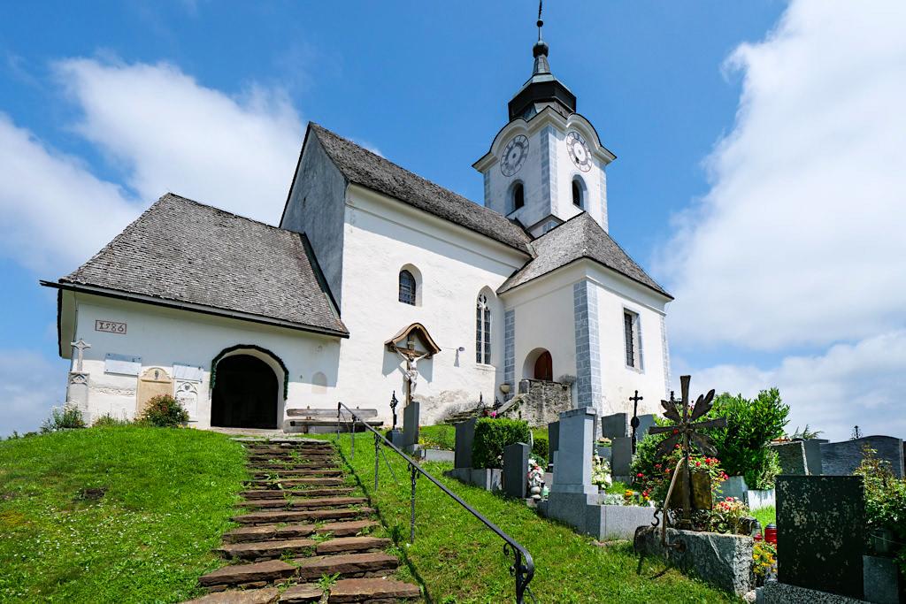 Kirche Sternberg: ein besonders magisch, energetischer Ort - Kraftorte am Wörthersee - Kärnten, Österreich