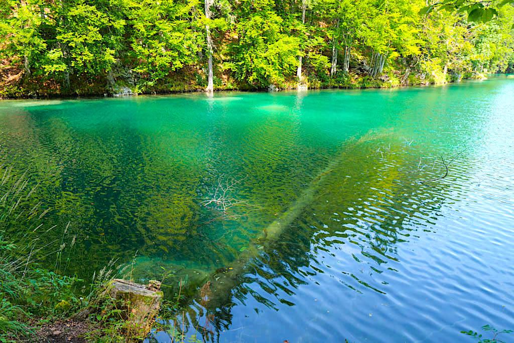 Wanderung um die Laghi di Fusine - Unterer Weißenfelser See - Touristen-Highlight an der Grenze zu Kärnten - Tarvisio, Italien