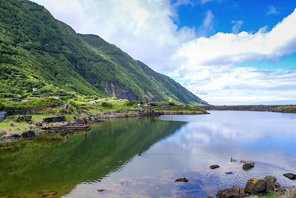 Lagoa da Faja dos Cubres - Schönste Fajas von Sao Jorge - Azoren