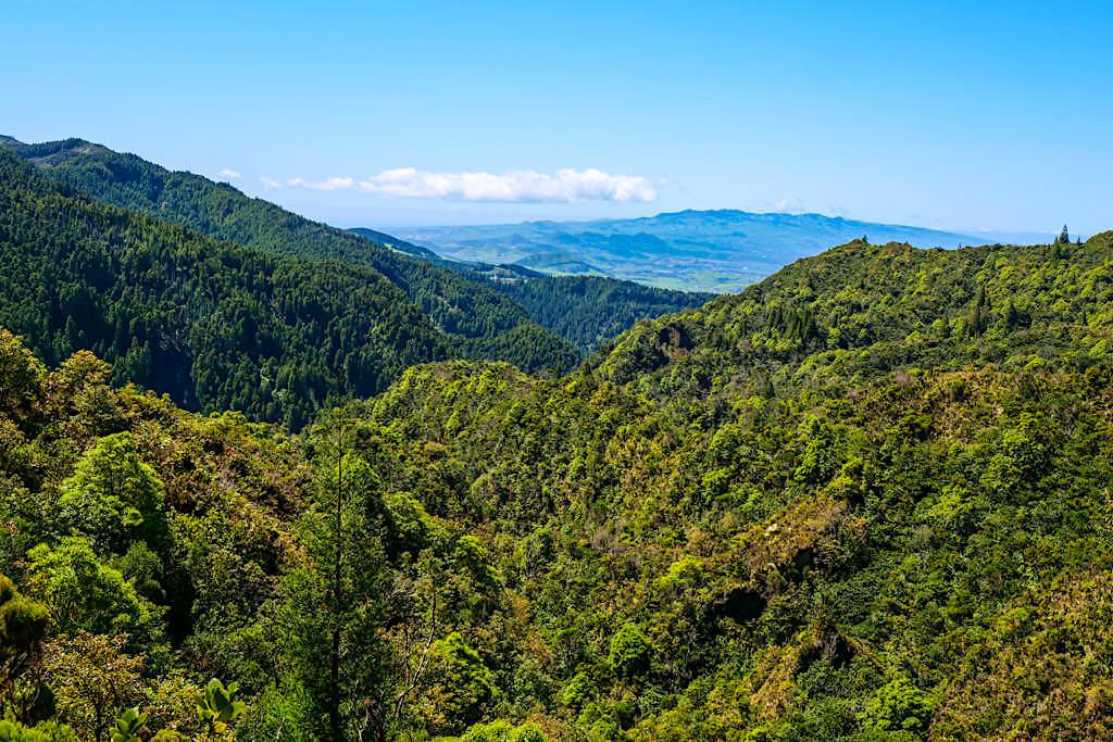Vale das Lombadas - Sensationeller Ausblick über die Schlucht & über das Inselinnere - Sao Miguel, Azoren