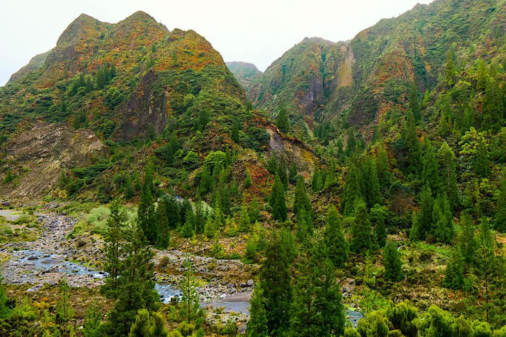Lombadas Tal - Voller Farbenpracht & Mystik an einem Regentag - Sao Miguel, Azoren