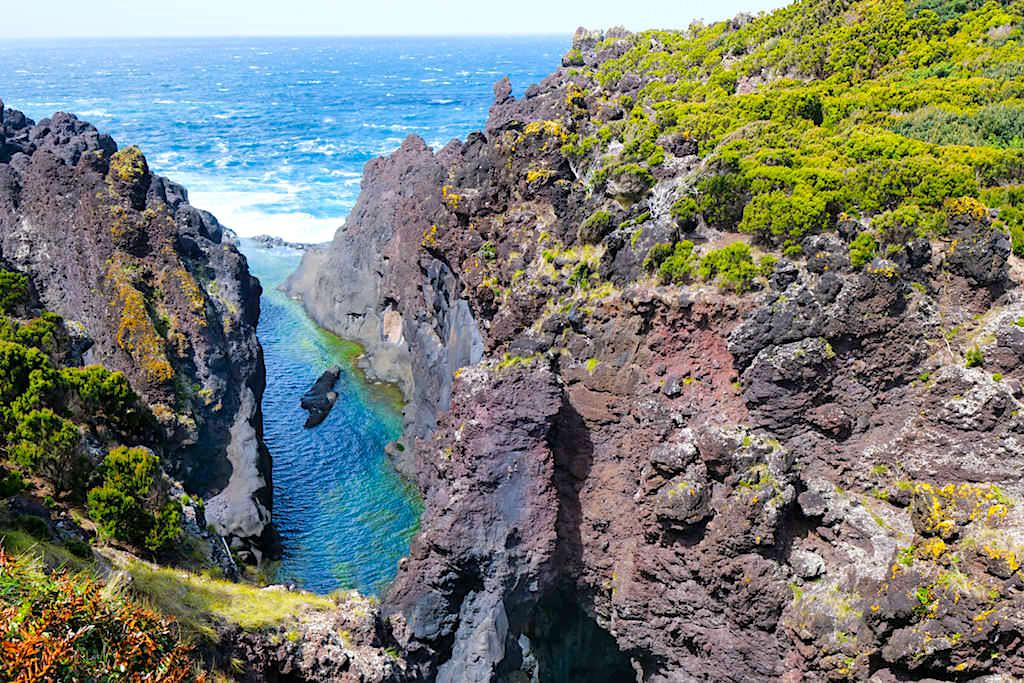 Poca do Caneiro: schönste Badepools & bizarre Felsen - Faja do Ouvidor - Sao Jorge, Azoren