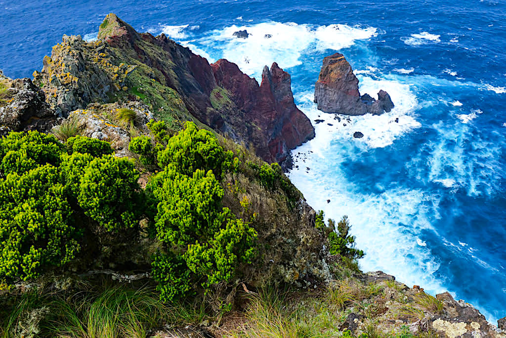 Ponta da Terra beim Ponta dos Rosais - Zwei Seiten der äußersten Westspitze von Sao Jorge - Azoren