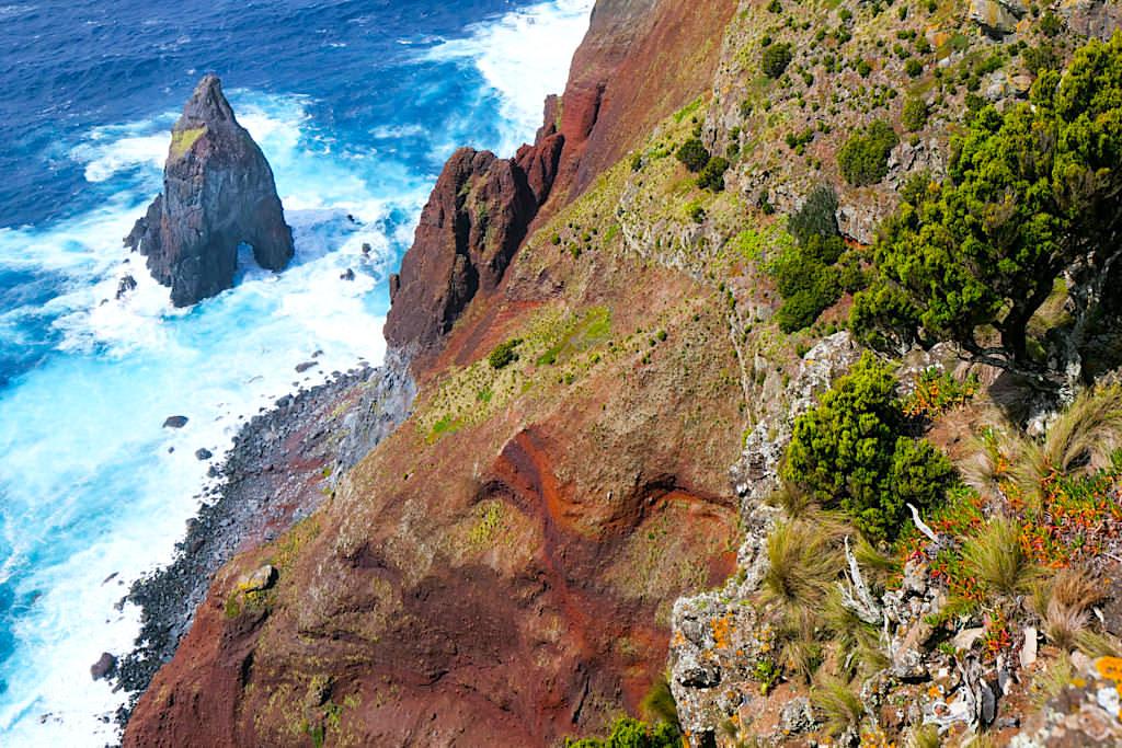 Ponta dos Rosais - Rote Klippen & faszinierende Ausblicke an der Westspitze von Sao Jorge - Azoren