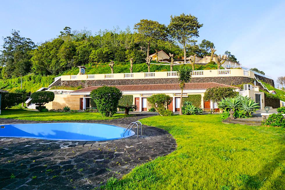 Quinta da Abelheira bei Punta Delgada - Schöner Poolbereich & Garten - Sao Miguel, Azoren