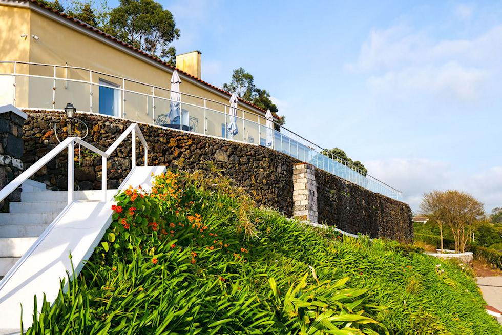 Quinta da Abelheira - Rural Tourism über den Dächern von Punta Delgada - Sao Miguel, Azoren