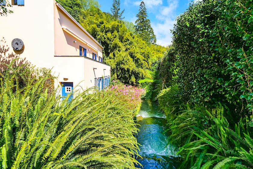 Quinta do Mo in Furanas - Die ehemalige Mühle ist heute ein schön renoviertes Ferienhaus - Sao Miguel, Azoren