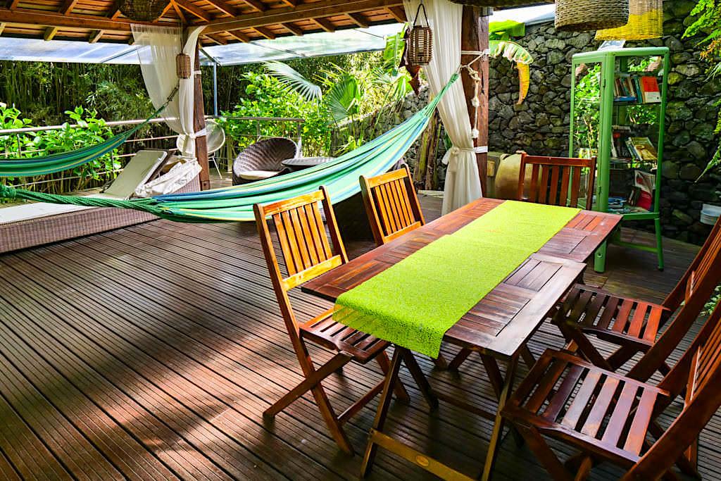 Quinta do Mo in Furnas - Abgeschiedener, schöner Lounge Bereich zum Relaxen & Abschalten - Sao Miguel, Azoren