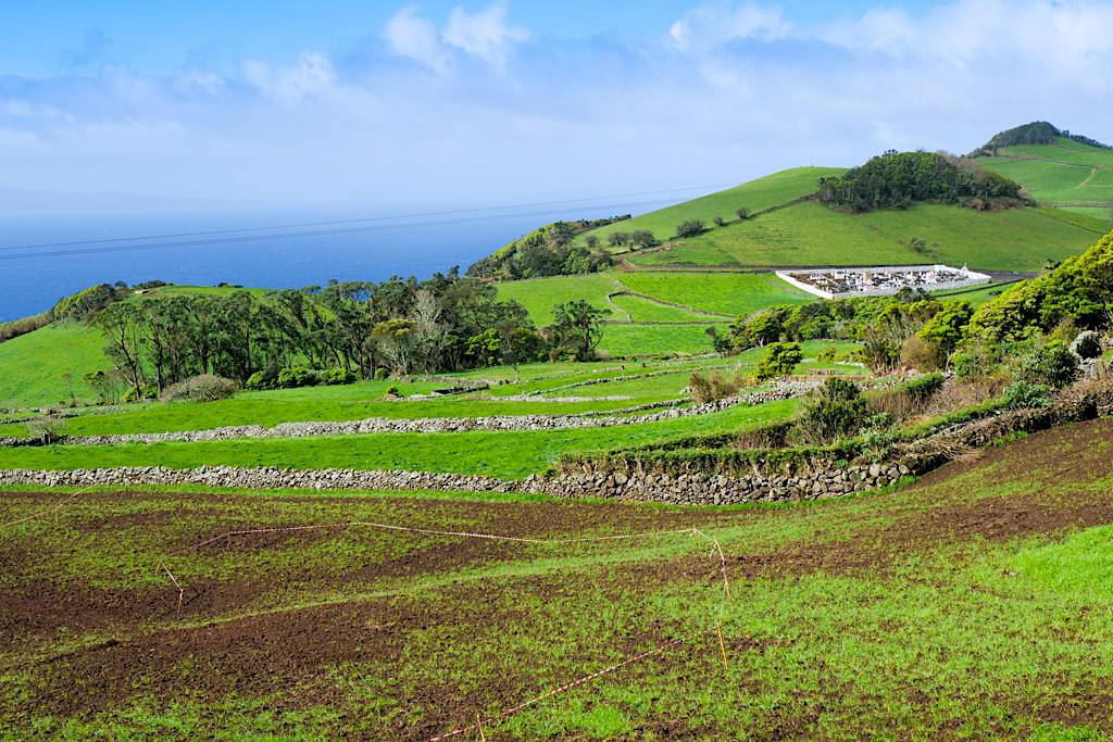 Sao Jorge - Landschaft im Westen der Insel - Azoren