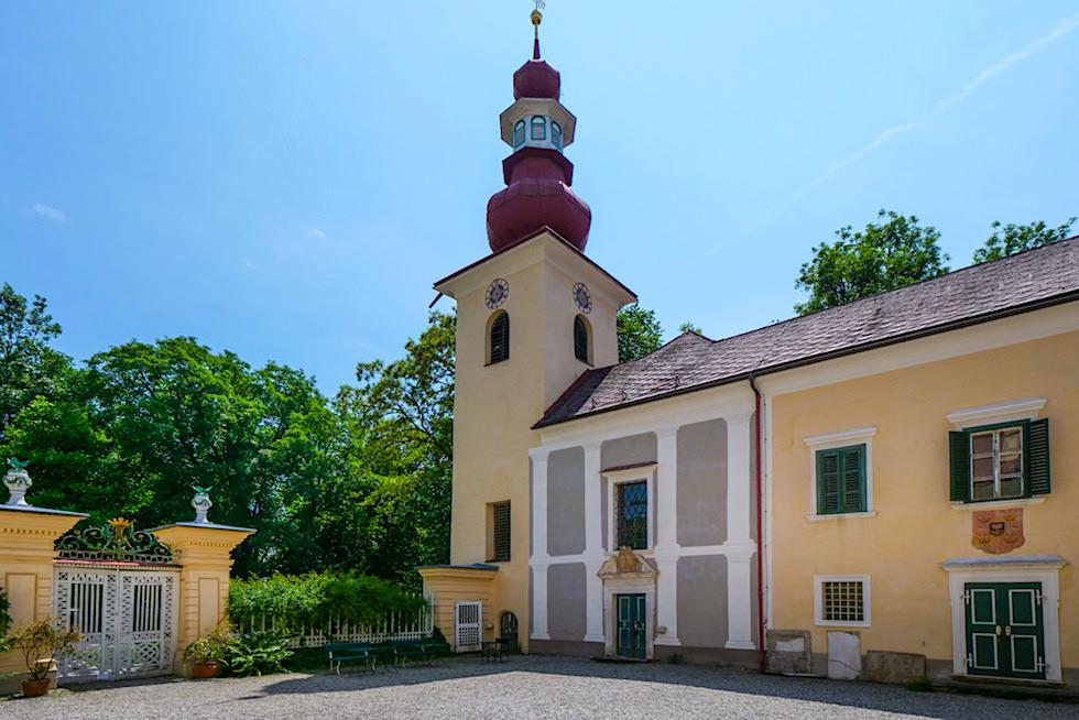 Schönes Schloss Damtschach - Schlösserrunde am Wörthersee - Kärnten, Österreich