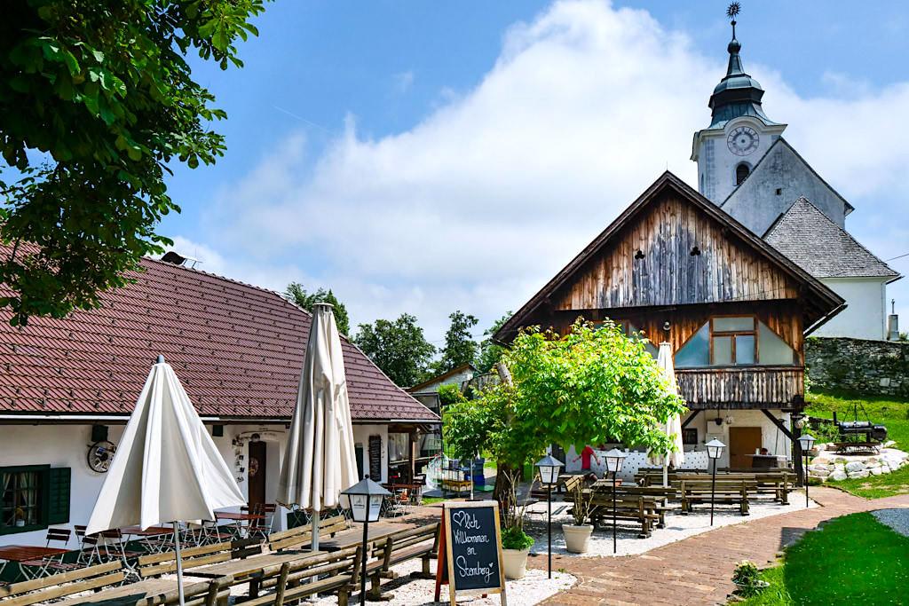Sternberg - Freundlich einladendes Gasthaus Messnerei - Kärnten, Österreich