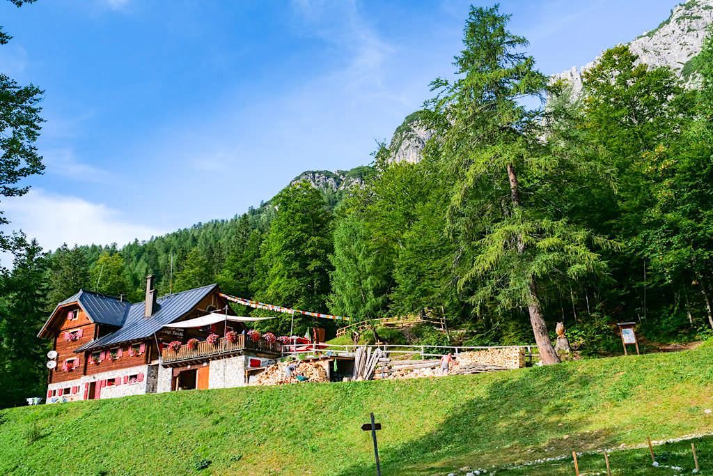 Zacchi Hütte - Rifugio Alpino Luigi Zacchi - eine der 11 Kärntner HüttenKult Berghütten - Tarvisio, Italien