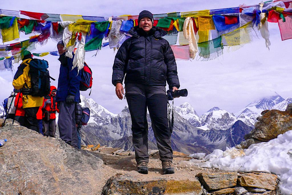 Gokyo Ri Pass mit Lowa Tibet GTX - Everest Trekking - Nepal
