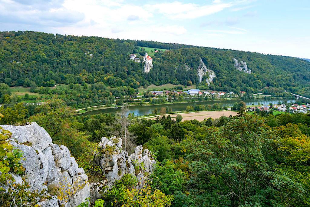 Spektakuläre Klamm-Wanderung zwischen Riedenburg & Prunn - Grandioser Ausblick von der sehr versteckten Aussichtsplattform - Altmühltal, Bayern
