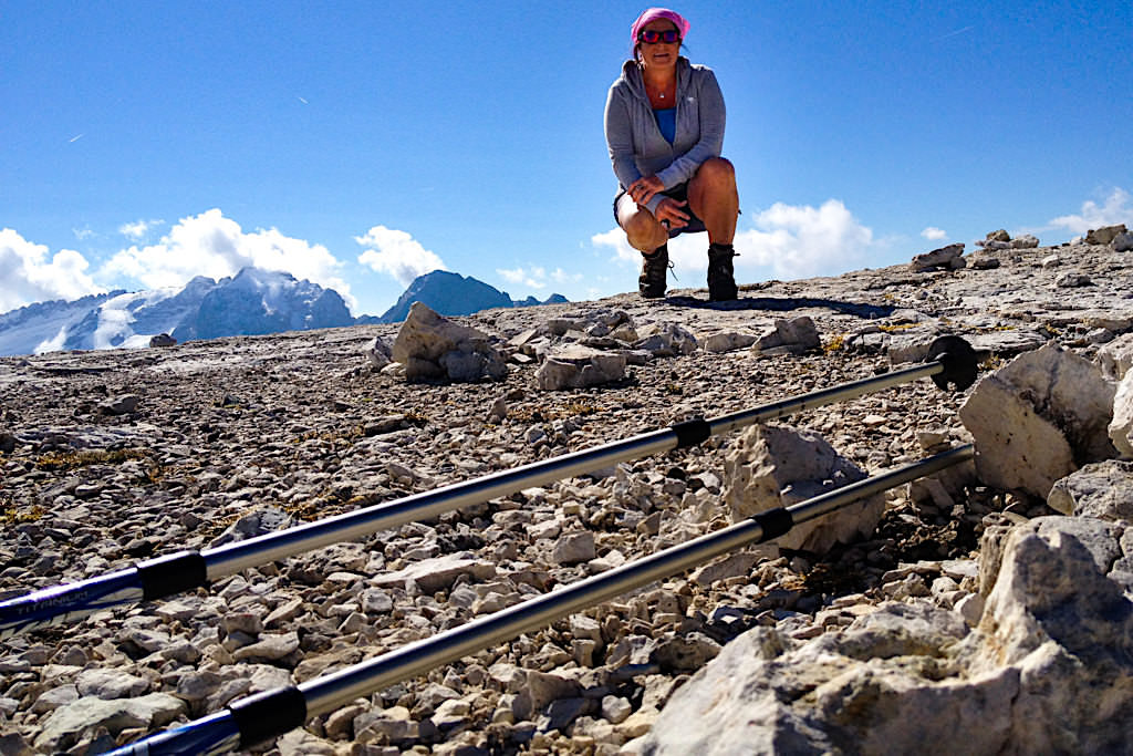 Piz Boè - Grandiose Wanderung mit Lowa Tibet GTX - Sella Gruppe, Dolomiten - Italien